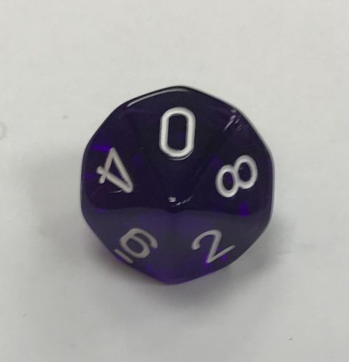 10-sided-clear-purple-white-chessex