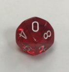 10-sided-clear-red-white-chessex