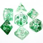 Nebula Green Dice Set - DiceEmporium.com