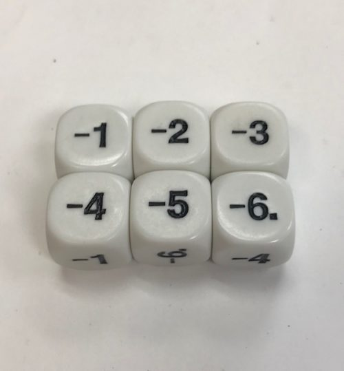 Negative-Number-Dice
