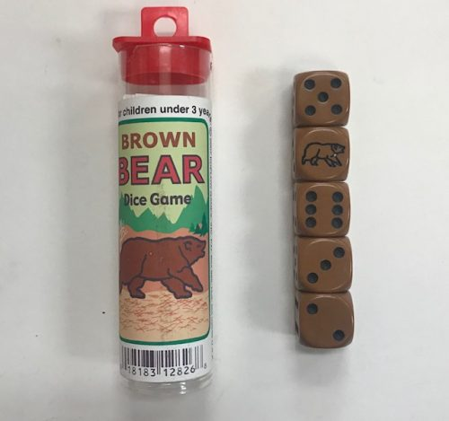 Brown-Bear-Dice-Game