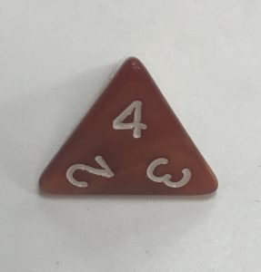 D4-Pearl-Brown-Dice
