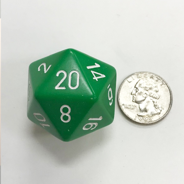 34mm Dice - DiceEmporium.com