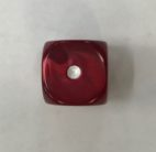 16mm Red Pearl Dice Koplow - DiceEmporium.com