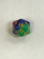 Jester's Gambit 20 Sided Dice - DiceEmporium.com