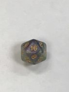 Royal Viper 20 Sided Dice - DiceEmporium.com