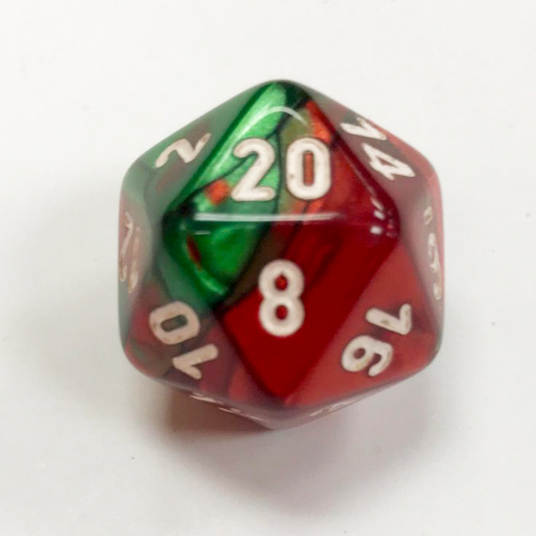 Chessex Gemini Single Dice - DiceEmporium.com