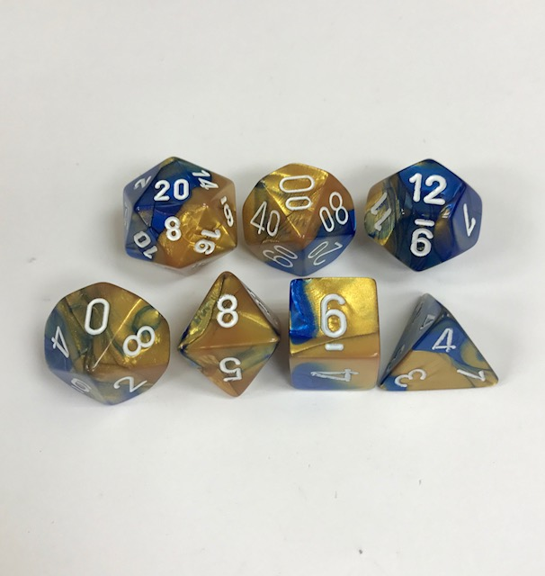 Chessex - Gemini Dice Set - DiceEmporium.com