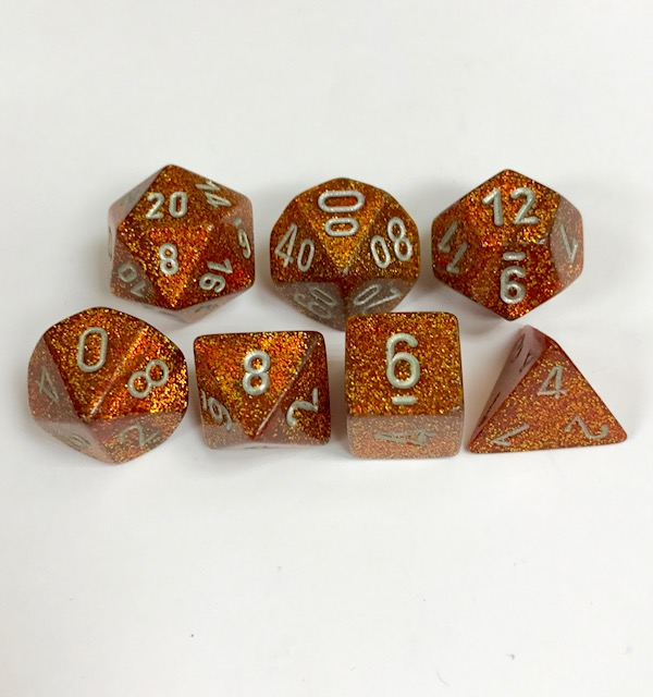 Chessex Signature ~ Glitter Dice - DiceEmporium.com