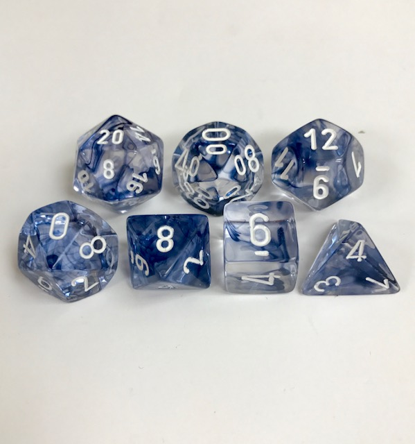 Chessex Signature ~ Nebula Dice - DiceEmporium.com