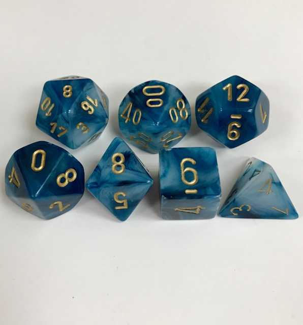 Chessex Signature ~ Phantom Dice - DiceEmporium.com