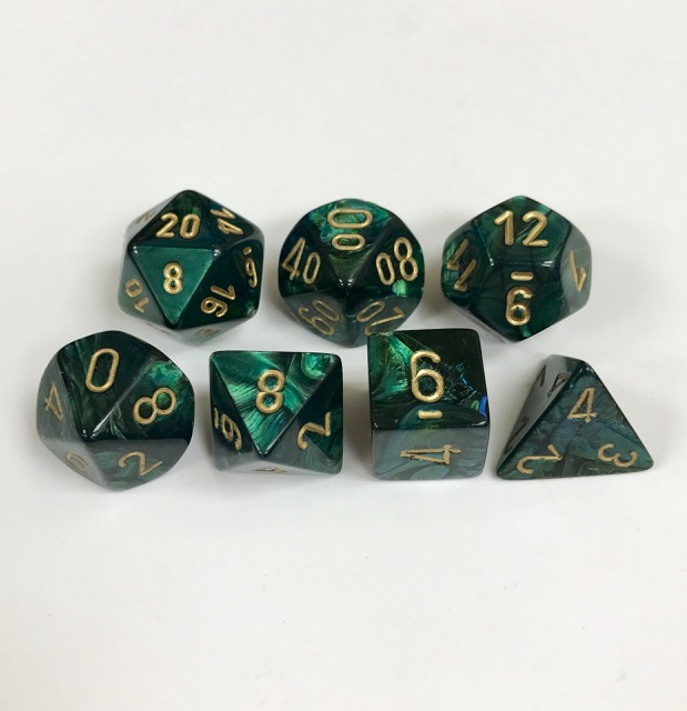 Chessex Signature ~ Scarab Dice - DiceEmporium.com