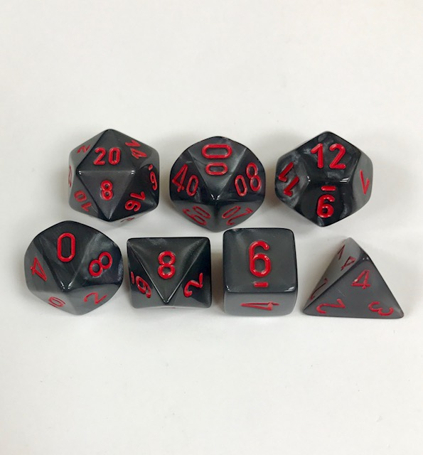 Chessex Signature ~ Velvet Dice - DiceEmporium.com