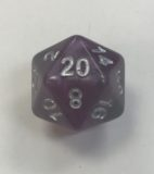 20 Sided Amethyst HD Dice - DiceEmporium.com