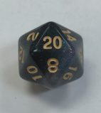 20 Sided Emerald Aurora HD Dice - DiceEmporium.com