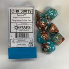 Gemini Copper-Turquiose/white Chessex