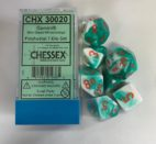 Gemini Mint Green-White/orange Chessex
