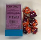Gemini Orange Purple/white Chessex