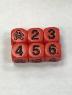 Red Skull Die - DiceEmporium.com