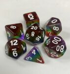 Layered 5 Color 7 Die Set - DiceEmporium.com
