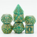 Green Castle Dice - DiceEmporium.com