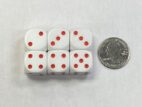 16mm Red Averaging Dice - DiceEmporium.com